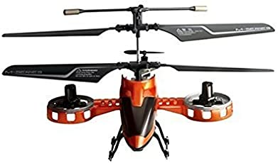 Webby 4 Channel Remote Controlled Avatar Helicopter (Orange)