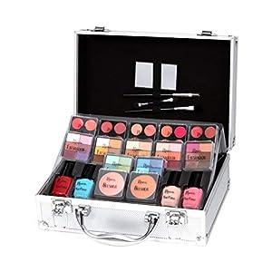 Keeva Cosmetics – Juego de maquillaje de diva con 72 piezas