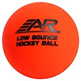 A & R Low Bounce Roller Street Floor Hockey Ball Orange Above 60 Degree Weather