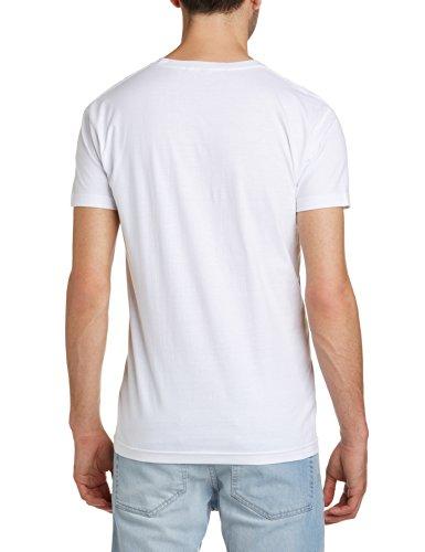 John Smedley Herren Pullover Belden Weiß - Weiß