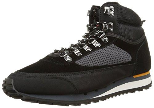 Base London - Bagel, Sneakers da uomo, nero (static mix black), 44