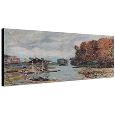 150 x 50 cm_Wandbild Alfred_Sisley_068_ stampa artistica