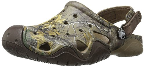 Crocs Swiftwater Realtree Xtra Clog Walnut/Espresso Größe EU 45-46
