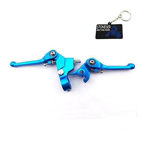 STONEDER Kupplungshebel mit blauem Griff für chinesische Pitbikes XRCRF, KLX, TTR, SSR