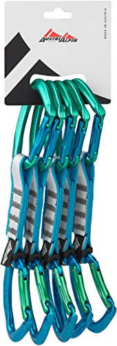 AustriAlpin Eleven Quickdraw Set 11cm 5 Pieces Green-Blue 2019 Express-Set