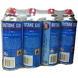 Sobazar - Lot de 4 Cartouches recharge gaz 227g MSF-1a