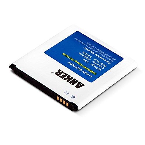 Anker AK-70SMGLXS4-S1W26NA - Batería para Samsung Galaxy S4 (2600 mAh) con tecnología...