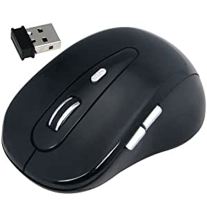 Daffodil WMS320 - Wireless Mouse - 5 Button Scrollwheel Mouse for Windows / Mac / Linux