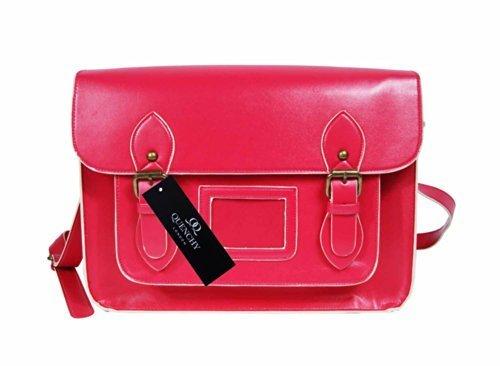 Quenchy london, borsa a secchiello donna rosa