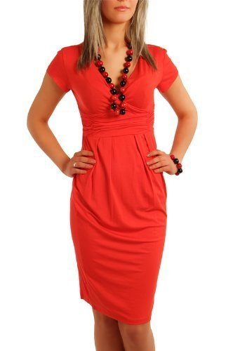 Fancy That Clothing - Robe -  Femme Corail