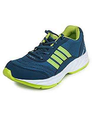Columbus TB-15 Mesh Sports shoes for Men (UK 7, SeaP.Green)