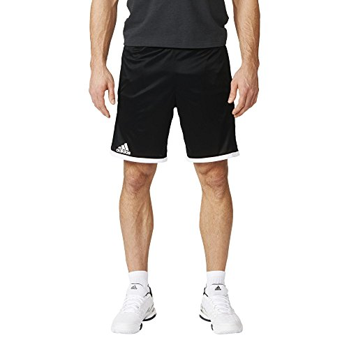 adidas Herren Shorts Court, Black/White, L