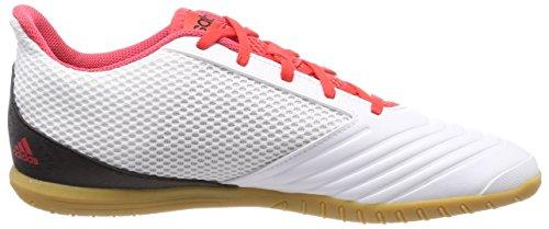 adidas Herren Predator Tango 18.4 Sala Fußballschuhe Schwarz (Ftwr White/core Black/real Coral S18)