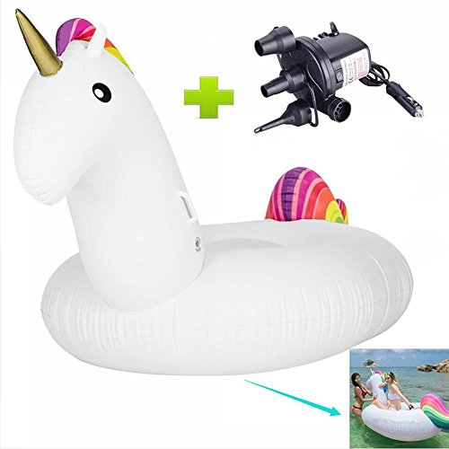 pool-float-sands-clover-giant-inflatable-unicorn-float-toy-pool-float-mounts-pvc-inflatable-floating