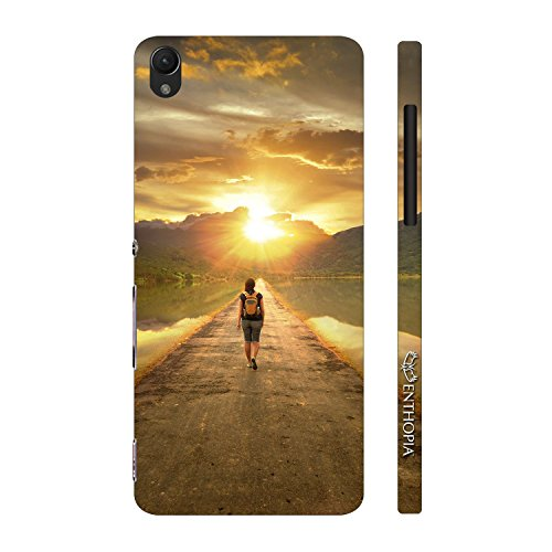 Enthopia Designer Hardshell Case Traveller Back Cover for Sony Xperia Z1  available at amazon for Rs.95