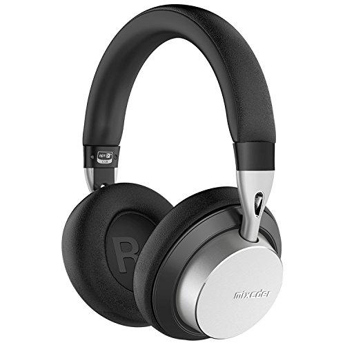355c2e0224f Mixcder MS301 Auriculares Inalámbricos con Micrófono Hi-Fi Deep Bass,  Cascos Bluetooth 4.2,