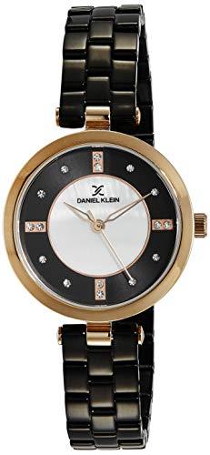 Daniel Klein Premium-Ladys Analog Black Dial Women's Watch - DK11679-5
