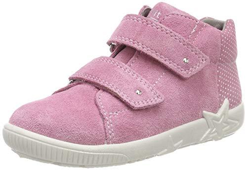 Superfit Baby Mädchen Starlight Sneaker, Pink (Rosa 55), 23 EU