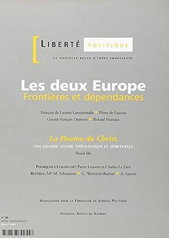 Pierre De Lauzun - Liberté politique, n° 26 du Juillet 2004