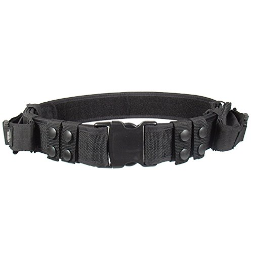 UTG Pistolengürtel Haevy Duty Elite Law Enforcement Pistol Belt, Schwarz, PVC-B950-A