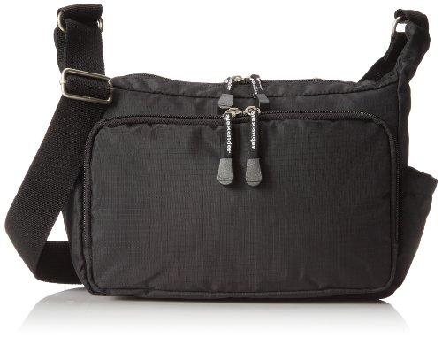 derek-alexander-top-zip-front-organizer-black-one-size