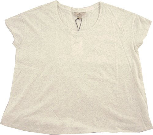 7 For All Mankind T-shirts (7 For All Mankind Damen T-Shirt grau grau X-Small Gr. Medium, grau meliert)