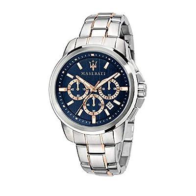 Maserati Reloj Analógico para Hombre de Cuarzo con Correa en Acero Inoxidable R8873621008 de Maserati