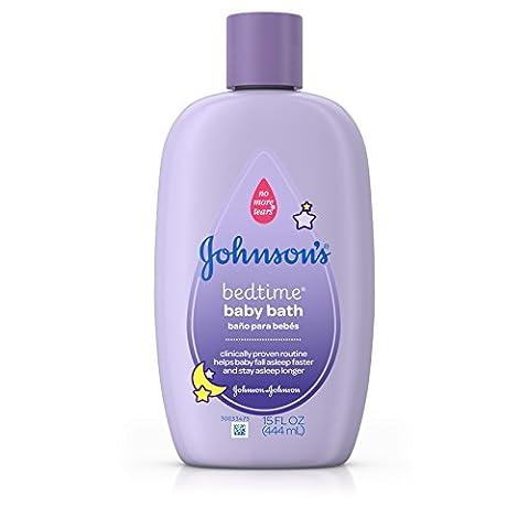 Bébé Bedtime Bath, 15 fl oz (443 ml) - Johnson Johnson