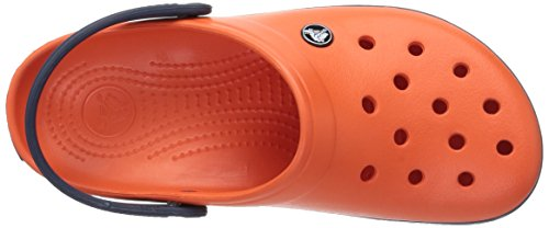 Tangerine Navy Crocband Crocs Unisex Clogs Erwachsene wZnqWYFU