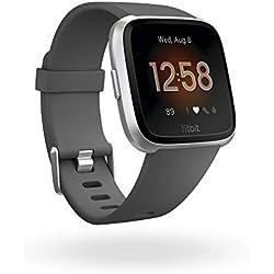 Fitbit Versa Lite - Gris/Oscuro,Gris (Charcoal/Silver Aluminum)