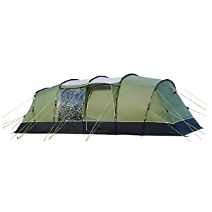 sunncamp spectre 800 8 person family tunnel tent 2013