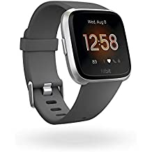 Fitbit Versa Lite Edition Smart Watch (Charcoal)
