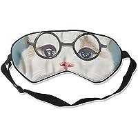 Comfortable Sleep Eyes Masks Cute Cat Pattern Sleeping Mask For Travelling, Night Noon Nap, Mediation Or Yoga preisvergleich bei billige-tabletten.eu