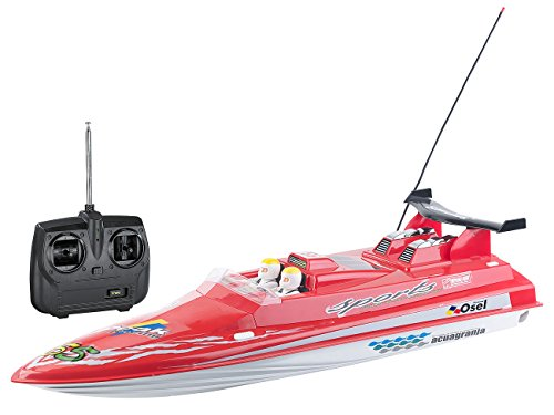 "Simulus RC Boot: Funkferngesteuertes Speedboat ""RCX-77 Race"" 27MHz (Rennboot)"