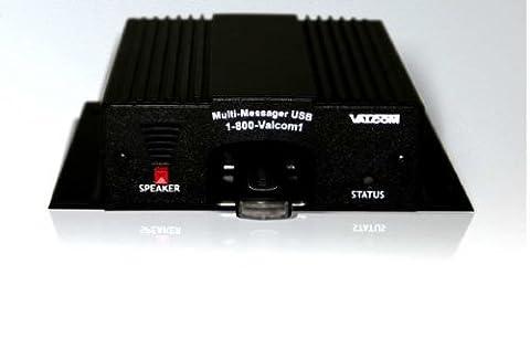 VALCOM USB multi-messager schwarz Metall Box für Alarmanlage–Tabelle Alarm