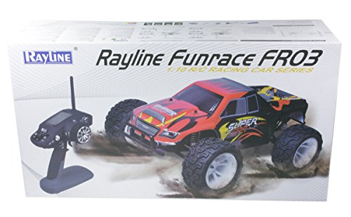 Rayline Funrace 03 B15 - 1:10 Monstertruck mit 2500 mAh LiPo und programmierbarer 2.4 GHz Fernsteuerung - 6