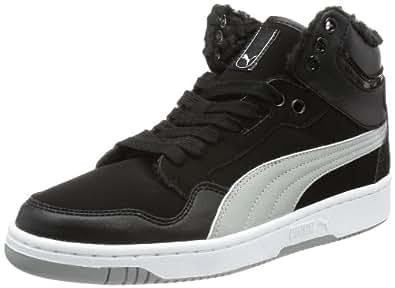 Puma Rebound Mid FS 4 Winter 355449, Herren Sneaker, Schwarz (black-limestone gray 01), EU 44.5 (UK 10) (US 11)