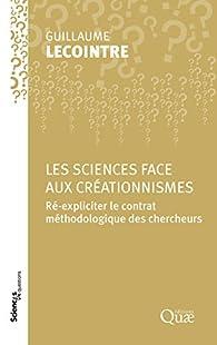 Les sciences face aux créationnismes par Guillaume Lecointre