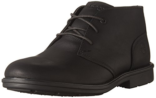 Timberland Men s Carter Notch Waterproof Plain Toe Chukka Black Full Grain Boot 11 5 D  M