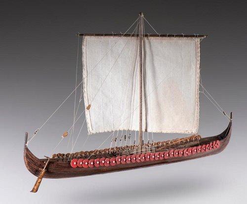 DUSEK Longship 1/72 Viking Ship L:390 H:235 W:185