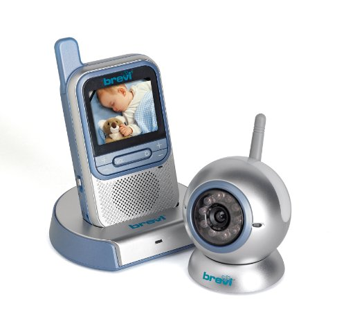 Brevi 394 Baby Monitor Cherubino Wireless con Video Baby Monitor 2.4 GHz