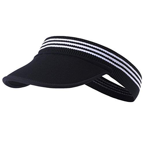 Tofern Tofern Visor Cap Kappe Unterziehmütze faltbar tragbar elastisch Sommer Laufen Tennis Angeln, Visor1
