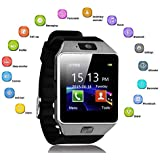 Buddymate DZ09 Bluetooth SmartWatch with SIM/TF Card Slot, Camera, Whatsapp, Facebook, Alarm Compatible with All Android,iOS & Windows Device (Assorted Colour)