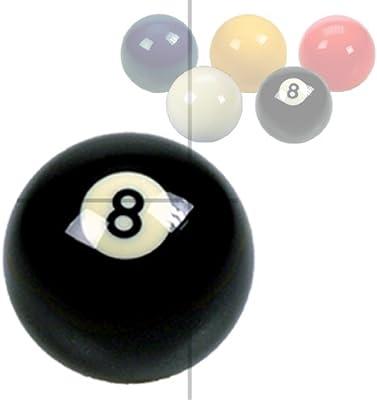 Aramith - Bola de billar (5,1cm), diseño de número 8, color negro