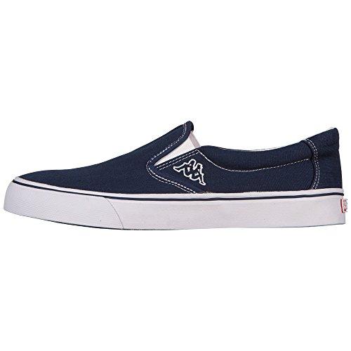 Kappa KANE 241624 Unisex-Erwachsene Sneaker Blau (6710 NAVY/WHITE)