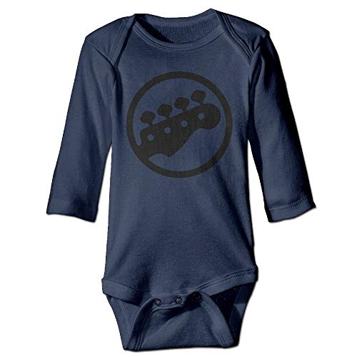 ARTOPB Unisex Infant Bodysuits Bass Tuning PEGS Baby Babysuit Long Sleeve Jumpsuit Sunsuit Outfit Navy -