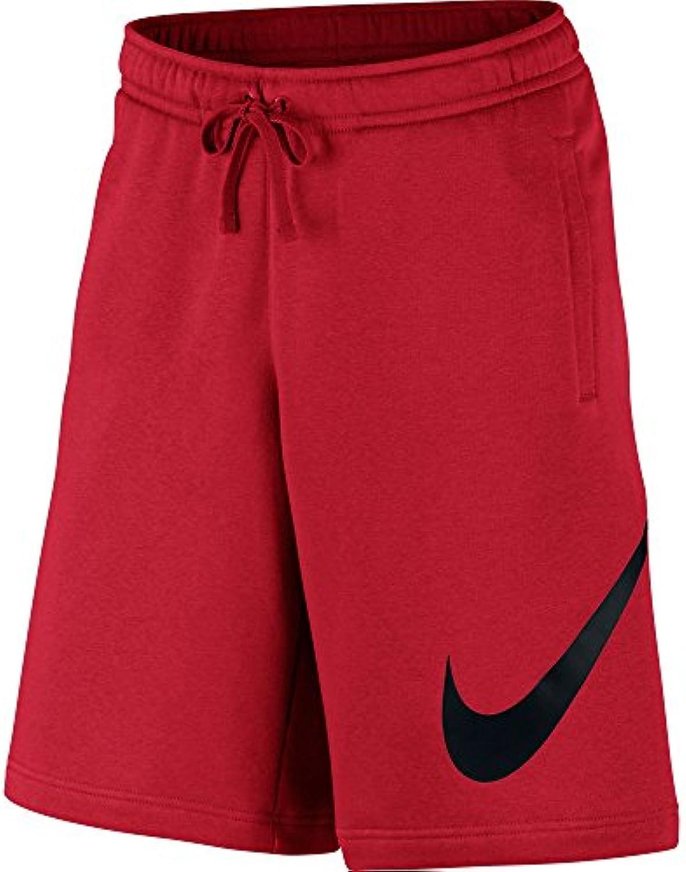 nike m nsw courts flc exp club shorts pour homme, homme, pour rouge universit 08fced
