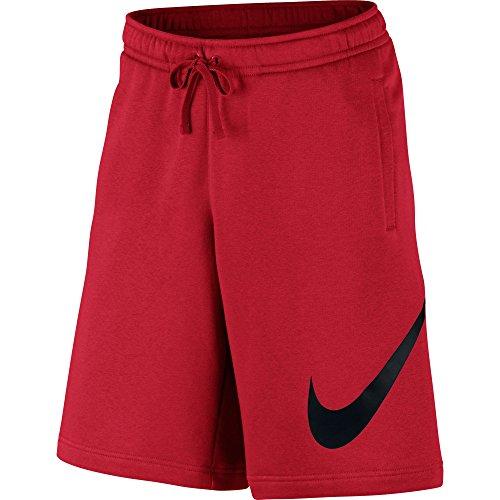Nike Herren M Nsw Club Exp Bb Shorts, Rot (University Red/Schwarz), M