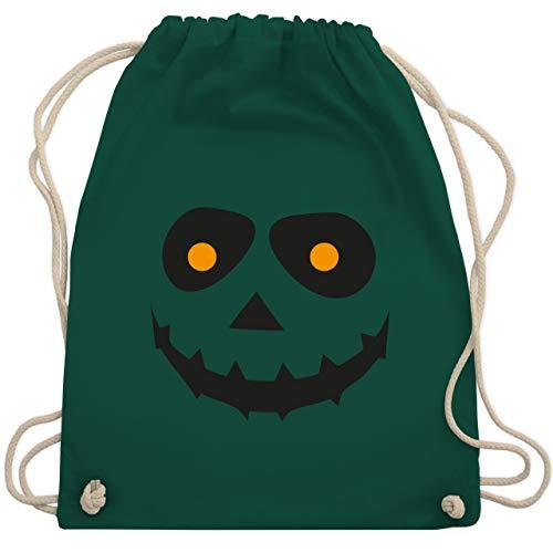 Halloween - Gruseliges Gesicht Fasching - Unisize - Dunkelgrün - WM110 - Turnbeutel & Gym Bag