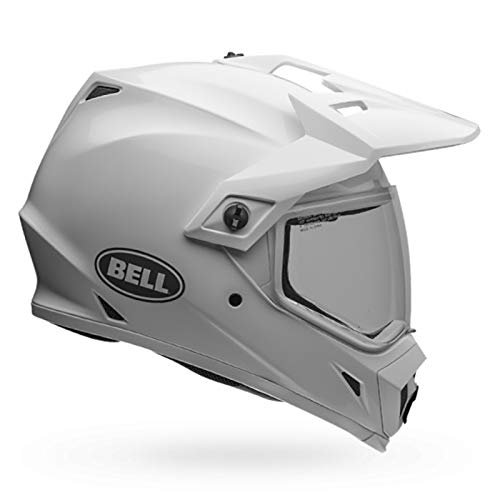BELL HELMET MX-9 ADVENTURE MIPS SOLID WHITE L